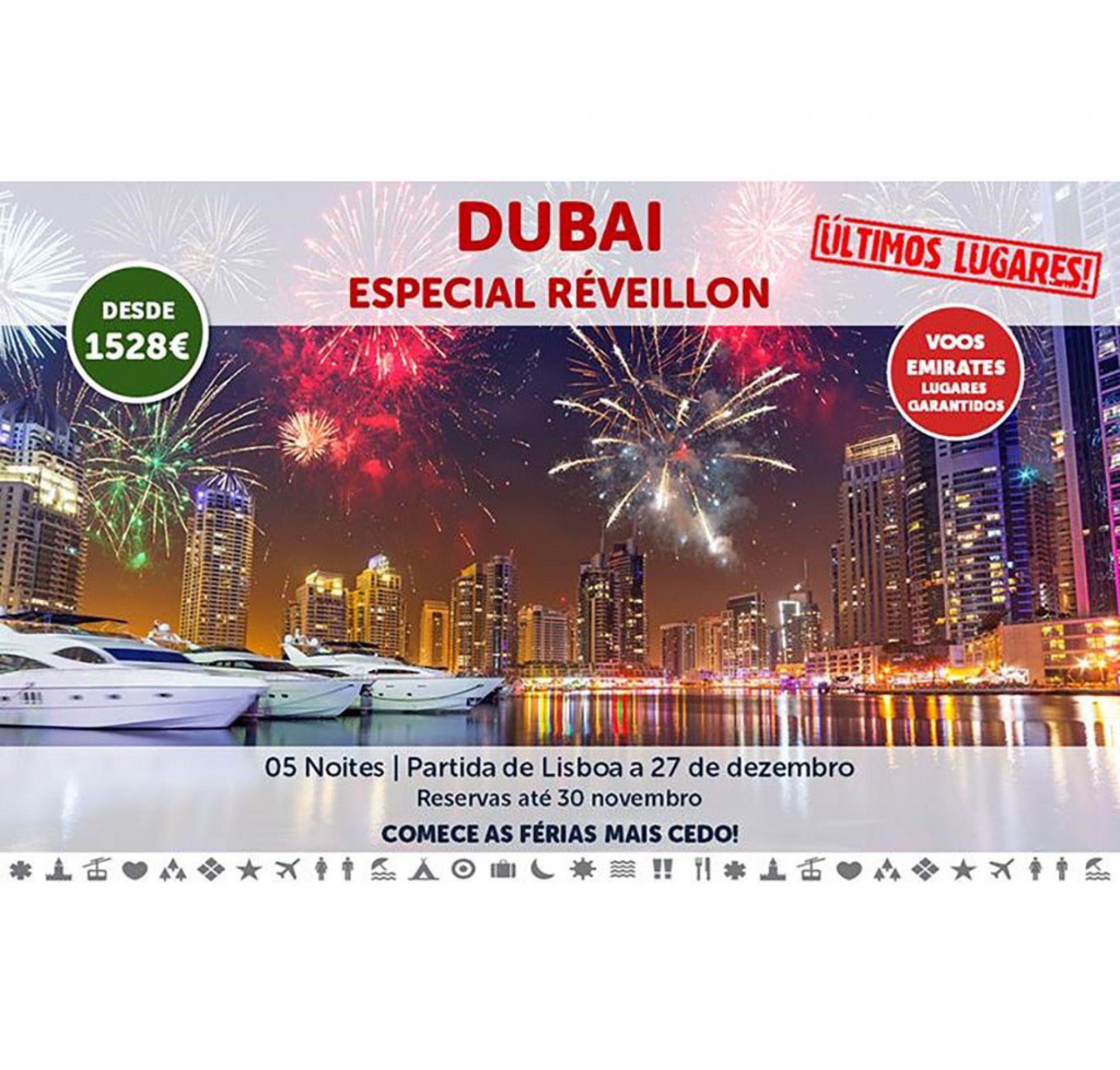 Passagem de Ano 2019 - Dubai