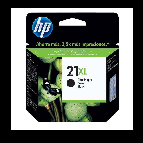 Tinteiro HP 21XL Preto